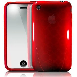 iphone 3gs cases - red 3
