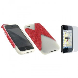 iphone 3gs cases - red 7