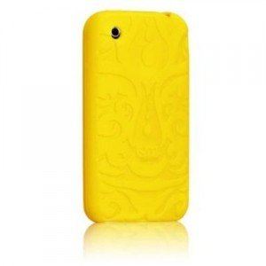 iphone 3gs cases - yellow 1