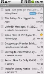 gmail in iOS5
