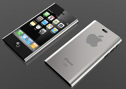 iphone 5 with sharp edges design