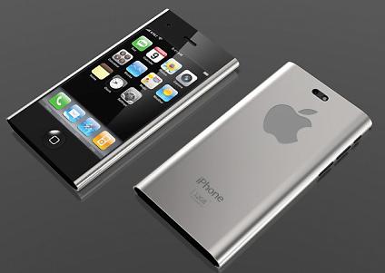 iphone 5 with sharp edges design