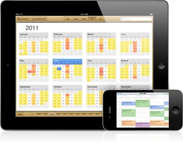 iOS 5 Calendar